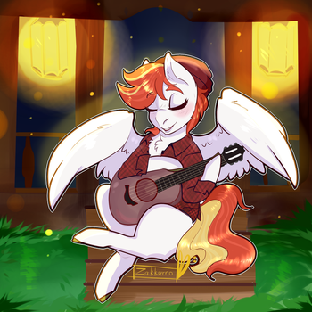 Late night tuning -com- by Zakkurro