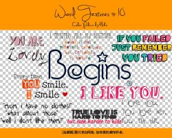 beautiful word png by mikakjj