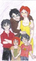 The Potter Family by SpellCasting