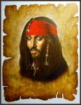 Jack Sparrow in the Garage by Emmi83