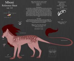 Mboni Reference Sheet ver. 1.0 by ArsFatalis