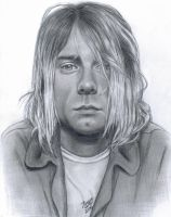 Kurt Cobain II by LatinPrincess17