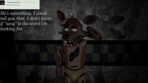 Ask/Dare Foxy and Bonnie [28] by BetrayingtheMartyr