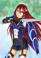 Hero Cordelia - commission for aabcehm by Alkanet