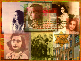 Anne Frank by reddartfrog