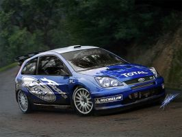 Ford Fiesta WRC by MONTCH