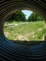 Flood relief pipe by Melanie76