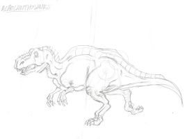 Dinosaure by zzpoil