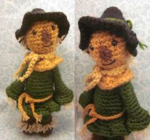 Scarecrow Wizard of Oz Amigurumi Crochet Doll by Spudsstitches