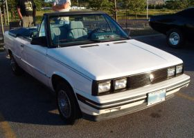 1985 Renault Alliance Convertible by Ripplin