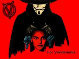 V for Vendemmia by Draxir