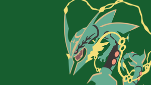 #384 Mega Rayquaza by bloodruns4ever