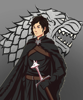 Jon Snow by BloodKnighttt