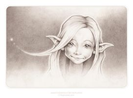 Lindee-Mae the moon-time faerie. by thePicSees