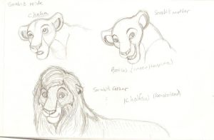 King Khalfani's Pride - 2010 ''Betrothed'' concept by Nala15