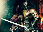 MkX  Mileena  x Scorpion 2 by ANgELoNlINe23