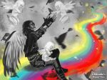 CRStudio's WinnerPrize: MJ Playing in Heaven by ChristianRagazzoni