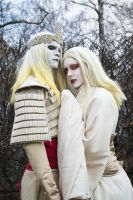 Nuada and Nuala Coronation - Hellboy 2 Cosplay by Mitternachto
