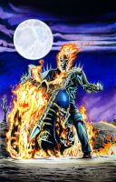 Ghost Rider by joraz007