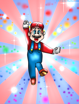 'It's-A-Me! Mario!' by BlueMario1016