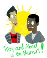 Troy and Abed in the Mooornin by animegirl43
