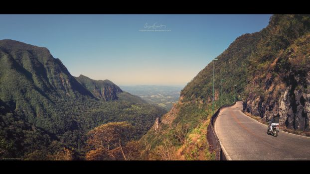 Road with a View by Miguel-Santos