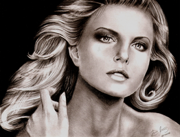Charlize Theron by JairoxD