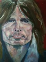 Steven Tyler Rock God by bostonb63