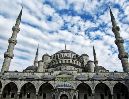 The Blue Mosque (Istanbul) by alestart