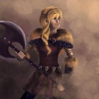 Astrid (HTTYD 2) by IgnitingLights