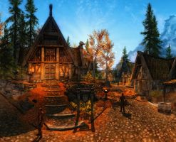 Skyrim - Whiterun by Riot23
