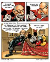 Mickey and Freud by ZorroDeBianco