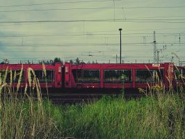 old Train by poisen2014