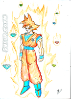 What happens when Chaos Emeralds fuse with GOKU? by kaiserkleylson