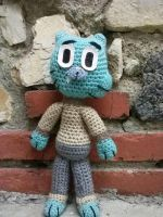 Gumball Doll(Amazing world of Gumball) by catqueen136