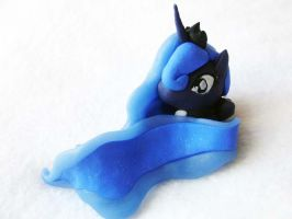 My Little Pony Princess Luna Chibi Figure by TattyBudderfly