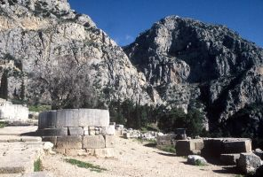 Mountains at Delphi by tigerous