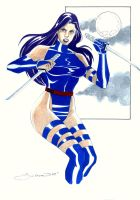 Psylocke by wardogs101