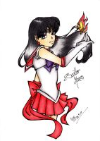 Sailor Mars by DarkSpirit16