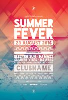 Summer Fever Flyer by styleWish