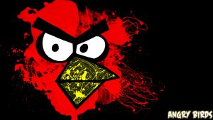 Angry Birds Splatter by kennywfz