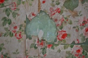 Victorian Rose Wallpaper by Gopher-Stock