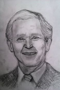 George W Bush by DaftPencil