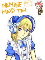 Namine Maid by AlejaS