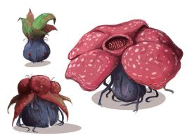Oddish - Gloom - Vileplume
