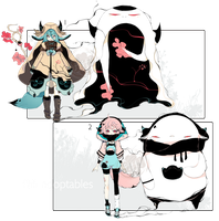 [CLOSED] ADOPT AUCTION 213-Shadowmonsters by Piffi-adoptables