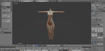 Blender Modeling Practice (Female Body) by Malik-Hatsune