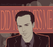 Jim Moriarty by RedPassion
