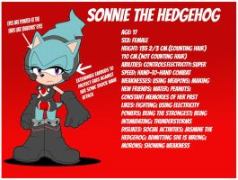 Sonnie the Hedgehog by ten-heart
