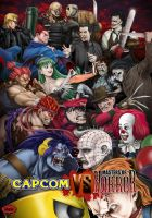 Capcom vs Masters of horror by jeep974